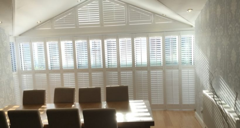 Tracked Window Shutters