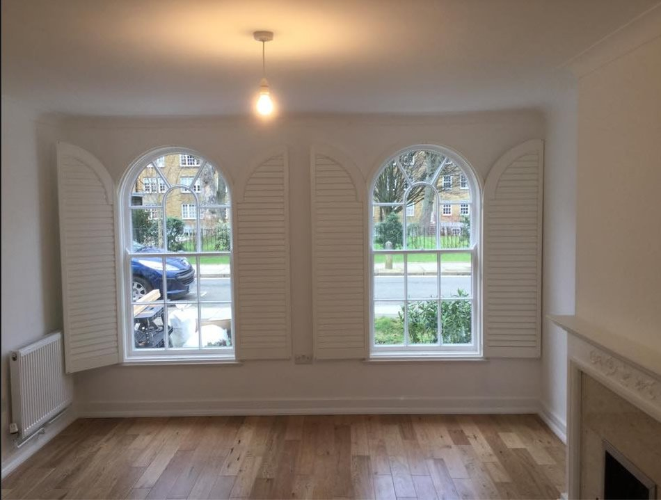 Wooden shutters Rickmansworth