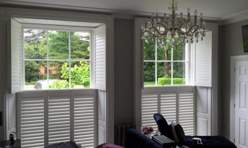 Tier on Tier Window Shutters 12