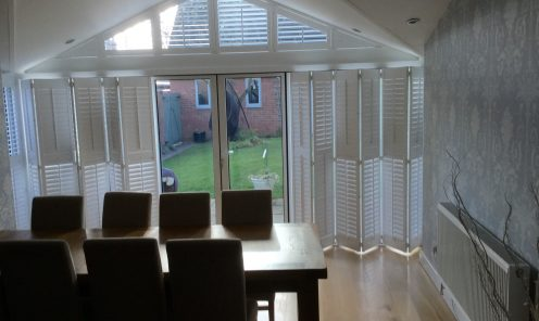 Tracked Window Shutters 12
