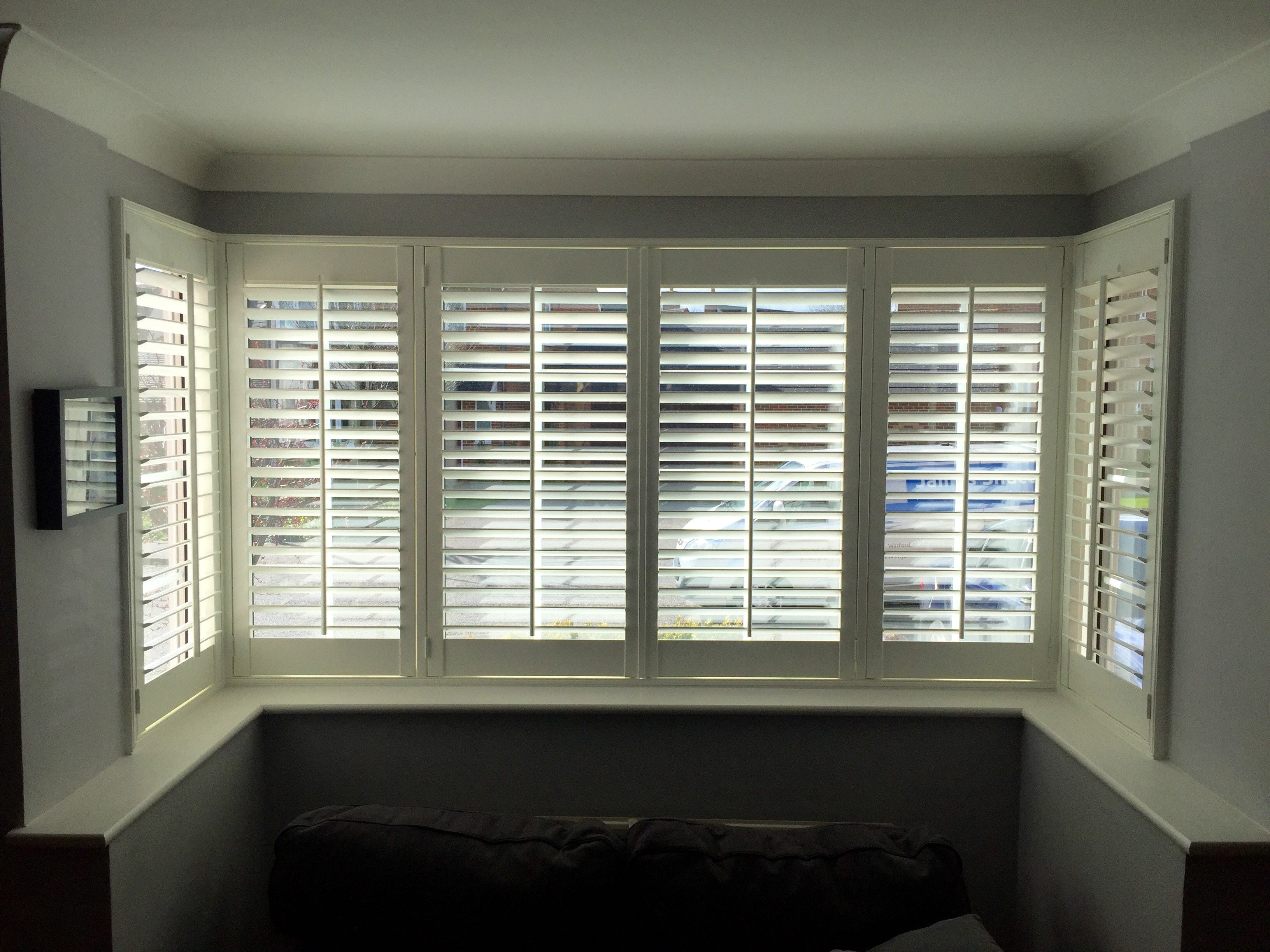 Bay Window Shutter Gallery Window Shutters Plantation