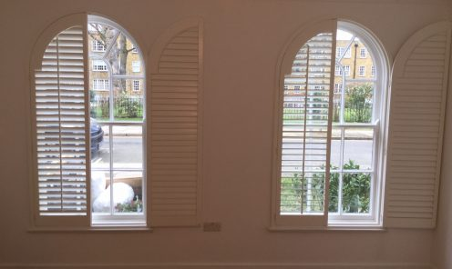Unusual Shape Window Shutters 3
