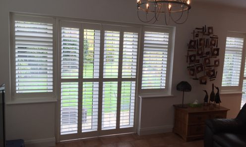 Tracked Window Shutters 4