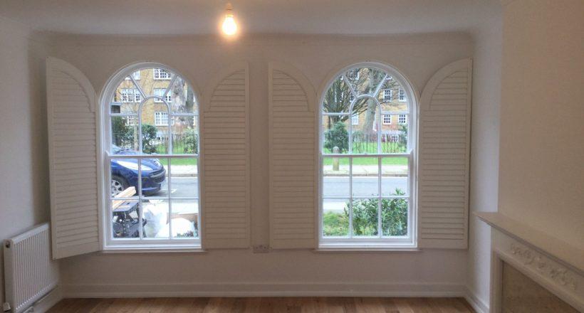 Unusual Shape Window Shutters 4