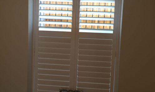 Tracked Window Shutters 7