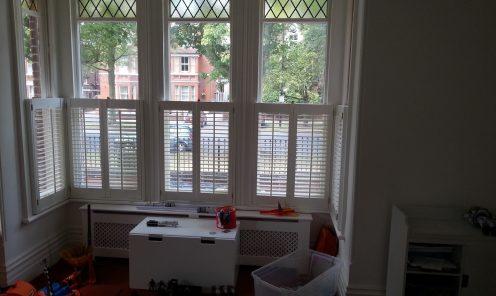 Cafe Style Window Shutters 1
