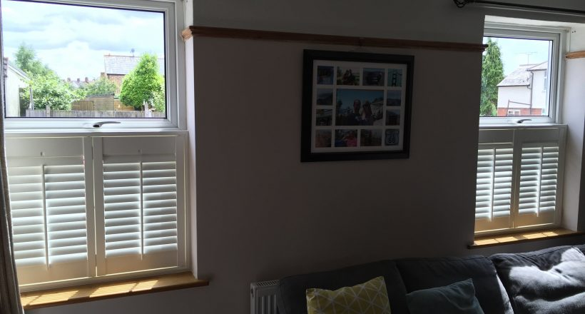 Cafe Style Window Shutters 14
