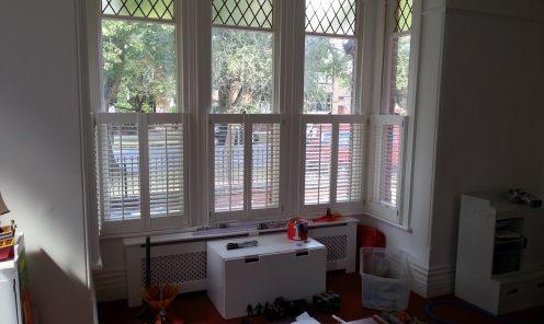 Cafe Style Window Shutters 2
