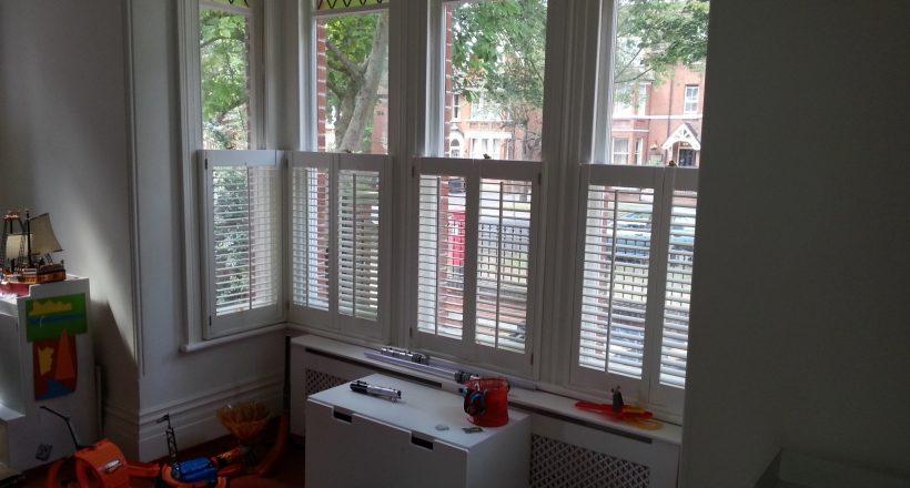 Cafe Style Window Shutters 3