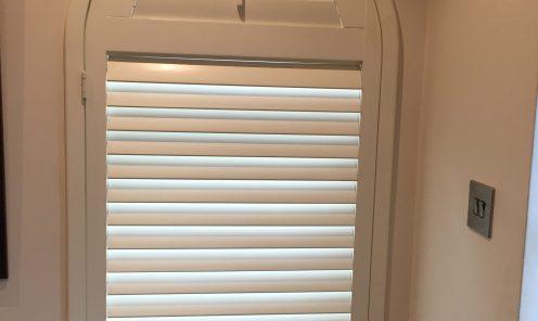 Unusual shaped window shutters 10