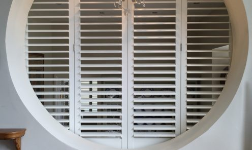 Unusual shaped window shutters 8