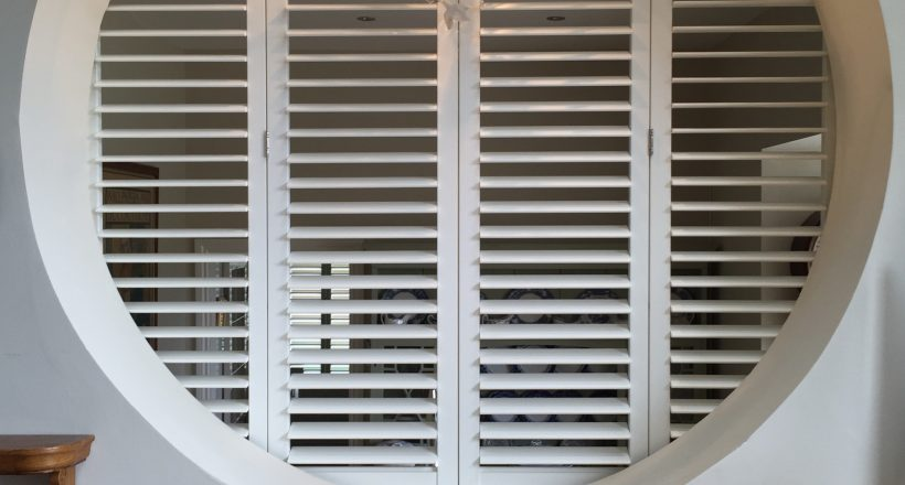 Unusual Shape Window Shutters
