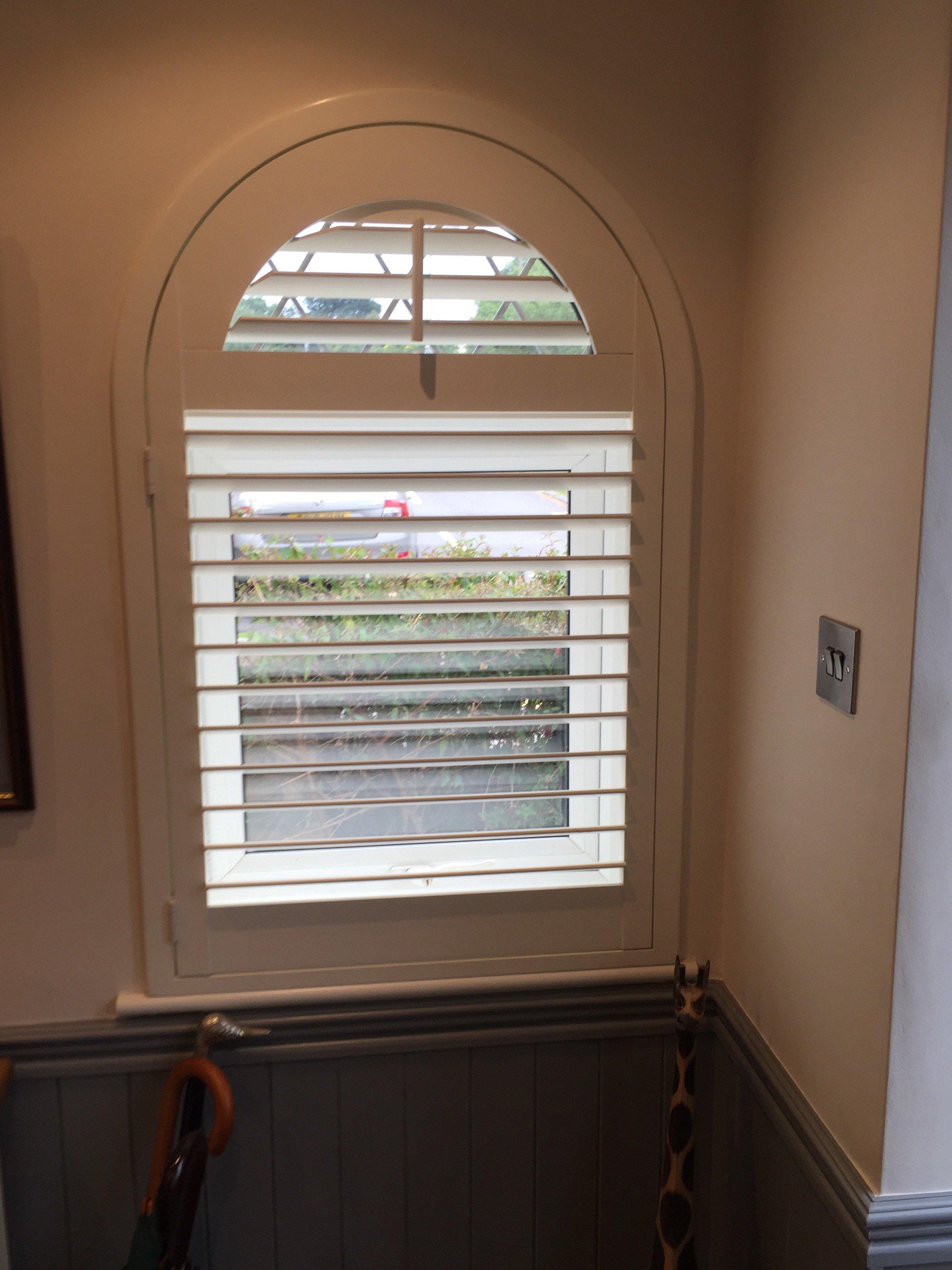 Home shutter gallery tier on tier shutters tier on tier shutters - Unusual Shaped Window Shutters 9